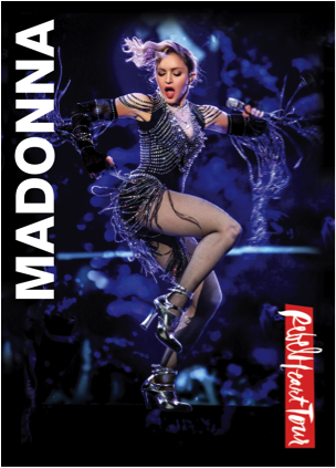 Madonna Rebel Heart dvd