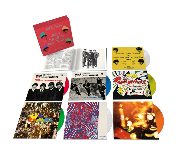 Beatles Christmas Box