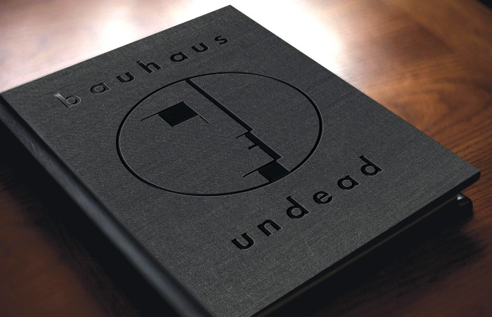 Bauhaus Undead book
